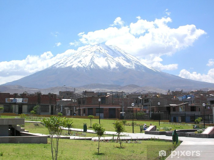 Fotomural Estándar Volcan misti arequipa - Cielo