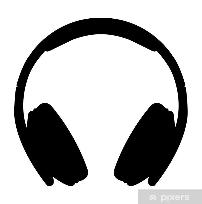 Headphones icon Vinyl Wall Mural - Wall decals
