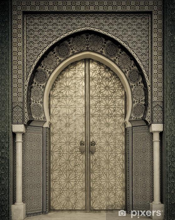 Pixerstick Sticker Oude deuren, Marokko - Thema's
