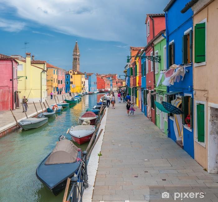Fototapeta winylowa Kolorowe domy Burano, Wenecja, Włochy - Tematy