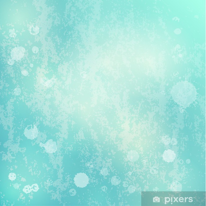 Grungy Pastel Blue Background Vinyl Wall Mural Backgrounds