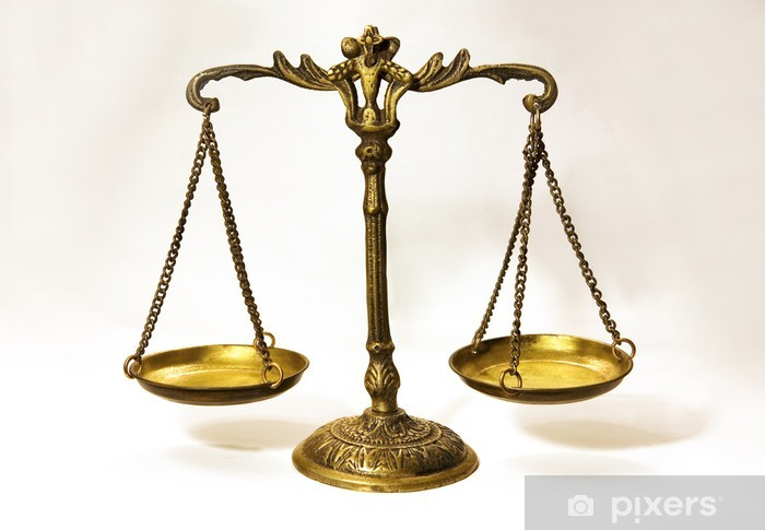 Balance Justice an antique scale that in formation of balance..justice scale