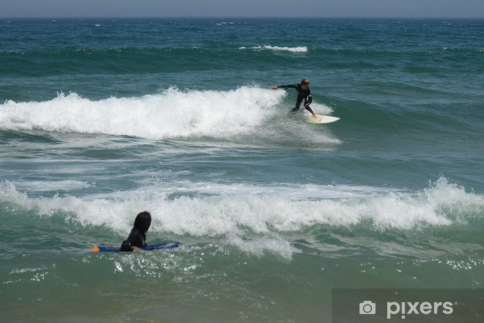 Vinyl-Fototapete Surfen - Urlaub