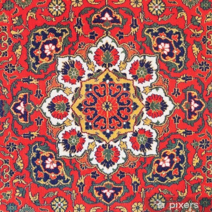 Naklejka Pixerstick Ornament dywan Azji Środkowej - Bliski Wschód
