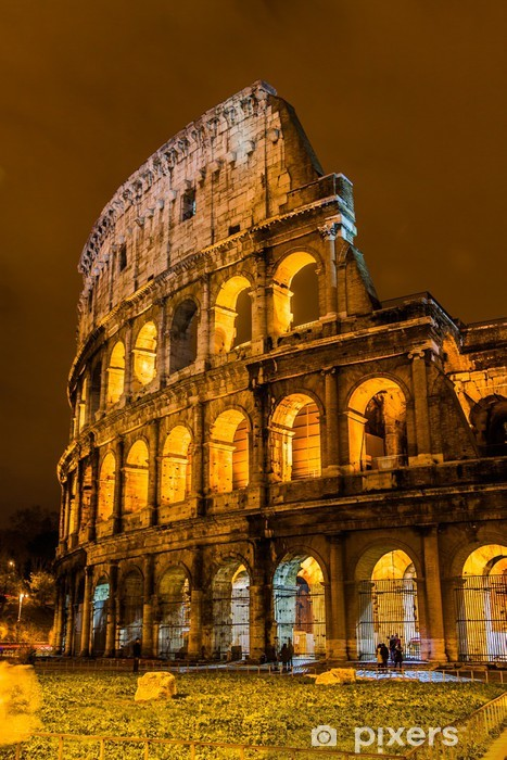 Colosseum in Rome, Italy Pixerstick Sticker - Themes