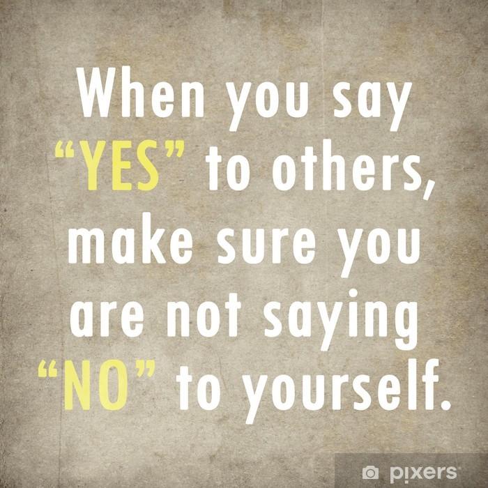 Poster Inspirierend Zitat Worten von Paulo Coelho auf altem Papier backgroun - Themen