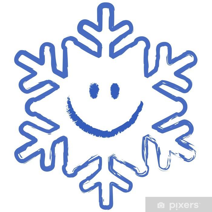 снежинки с рожицами картинки бонни разработала дизайн