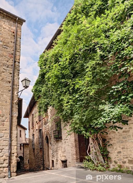 Papier peint vinyle Vieille ruelle en Ombrie, Italie - Europe