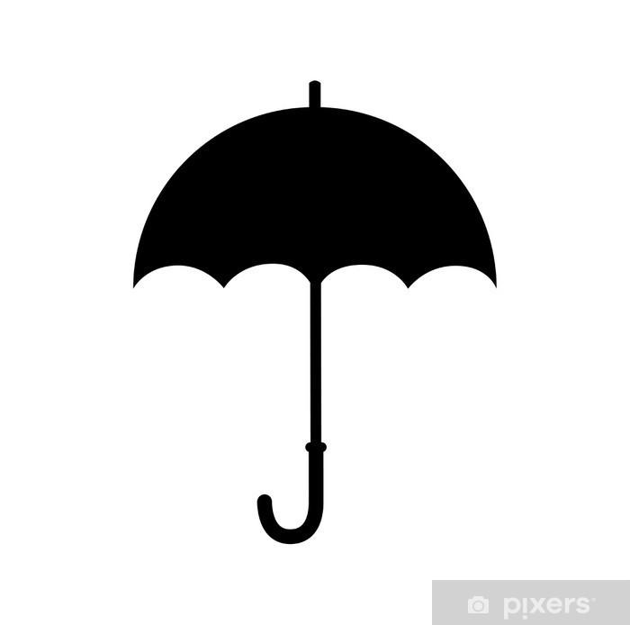 Poster Parapluie icône - Signes et symboles