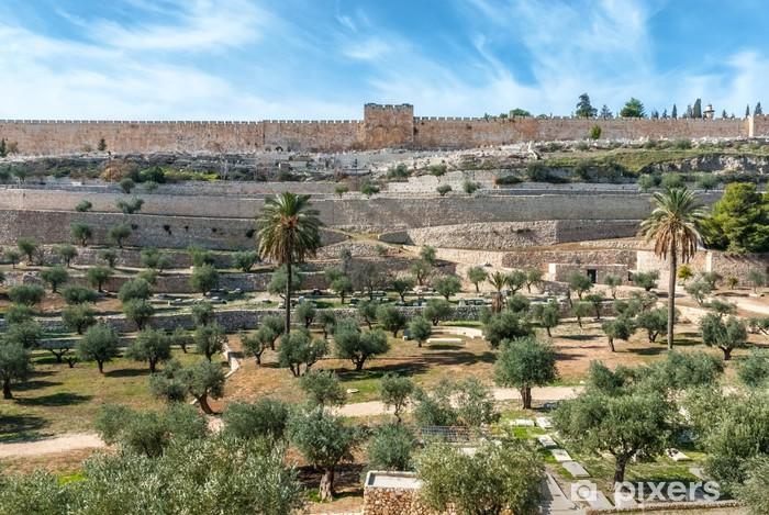 Pixerstick Dekor Jerusalem gamla murar, Israel - Mellanöstern