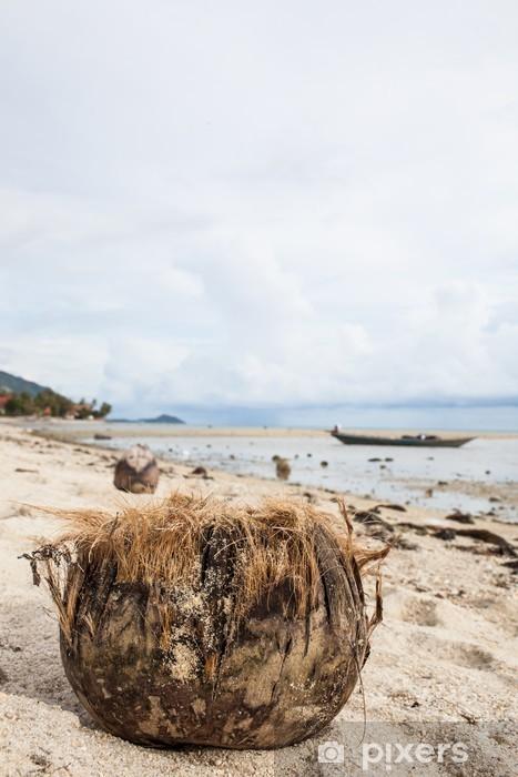 Naklejka Pixerstick Kokosowy w Tajlandii - Kwiaty