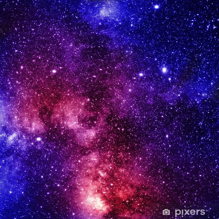 deep outer space Pixerstick Sticker - Universe