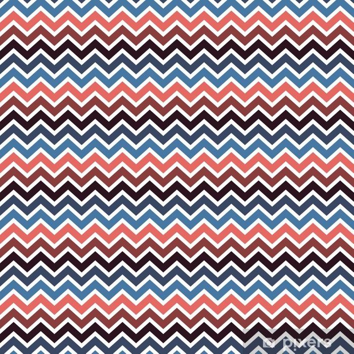 seamless chevron pattern Vinyl Wall Mural - Ecology