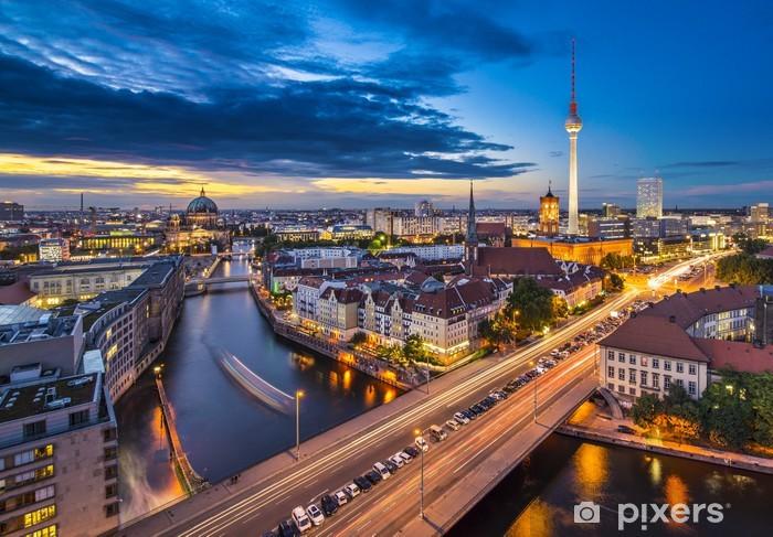 Fotomural Estándar Berlín, Alemania Paisaje urbano - Alemania
