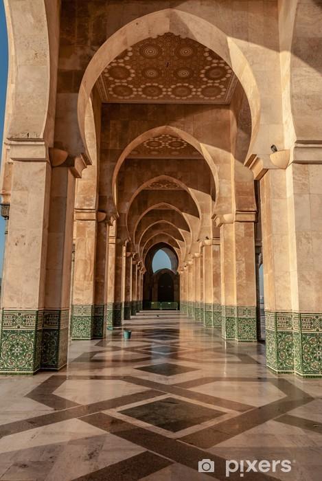 Vinilo para Nevera Hassan II Mosque Casablanca Morocco -