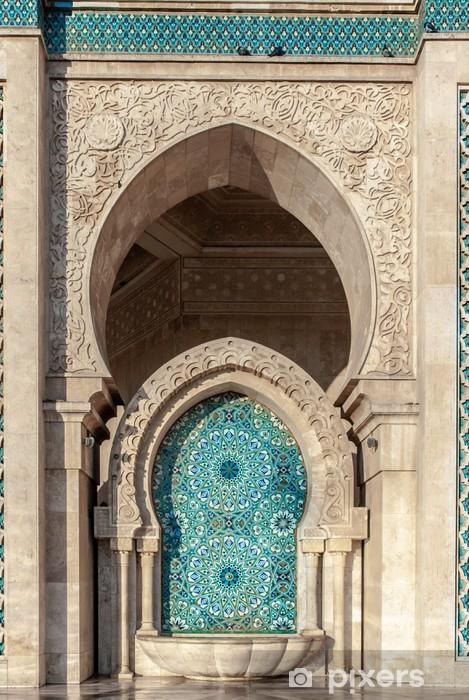 Koelkaststicker Hassan II moskee, Casablanca Marokko - Afrika