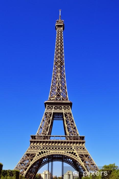Sticker Pixerstick La Tour Eiffel à Paris, France. - Villes européennes