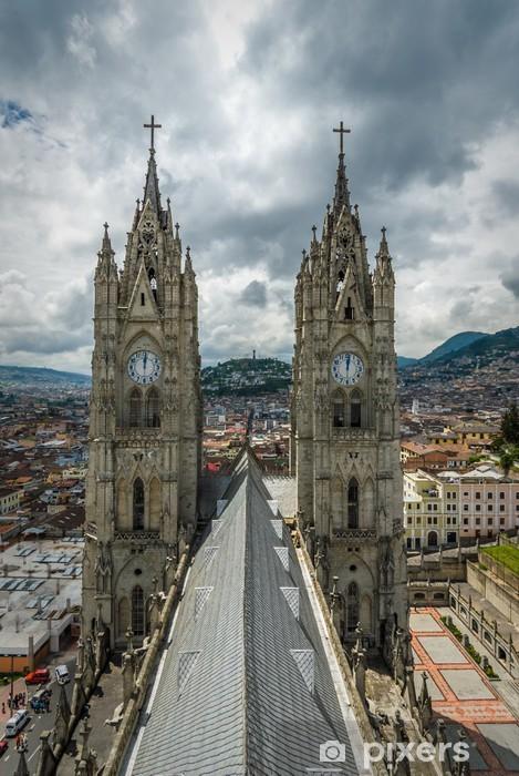 Fotomural Estándar Basilica del Voto Nacional, Quito, Ecuador - América