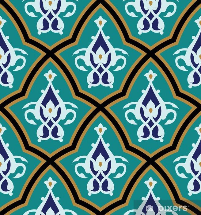 Bonab Seamless Pattern One Pixerstick Sticker - Africa