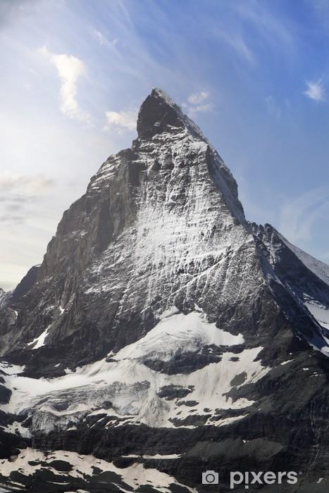 Lack Tafelsticker Prachtige berg Matterhorn, Zwitserse Alpen - iStaging