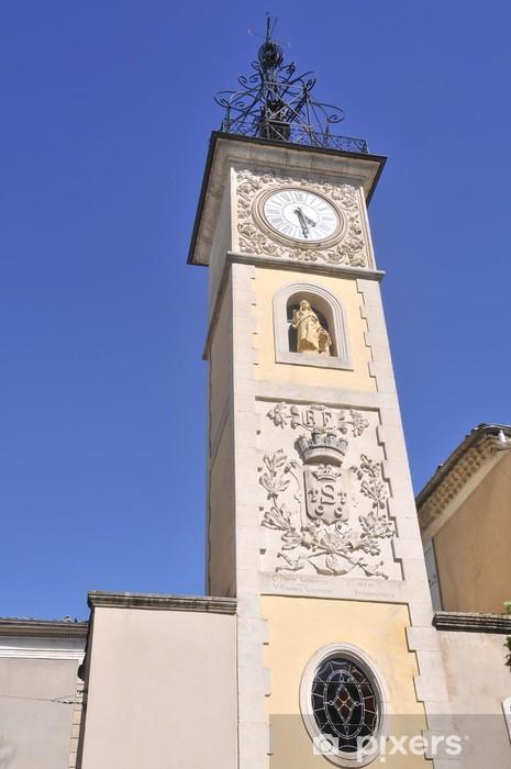 Fototapeta winylowa Kościół w Sisteron - Budynki użyteczności publicznej