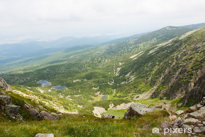 Nálepka Pixerstick Krkonoše Sudet - Evropa