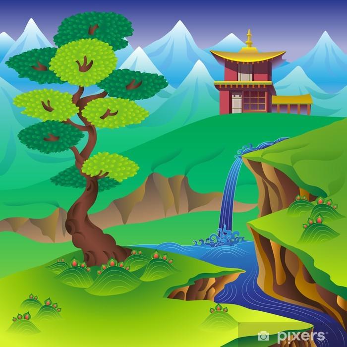 Fototapeta winylowa Chiński krajobraz - Azja