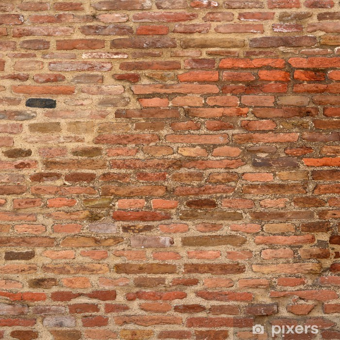 Fotomural Lavable Antecedentes de ladrillo textura de la pared - iStaging