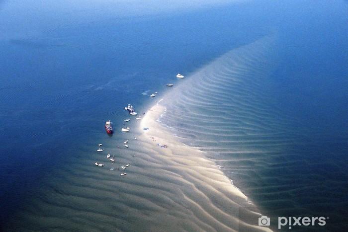 Papier peint vinyle Banc de sable Oosterschelde - Vacances