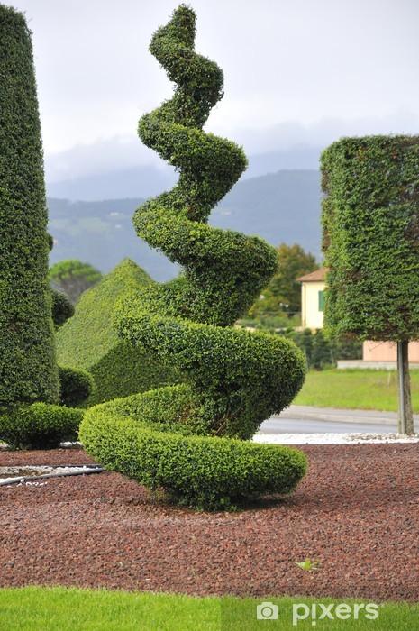 Vinyl Fotobehang Topiary, Samenstelling - Landbouw
