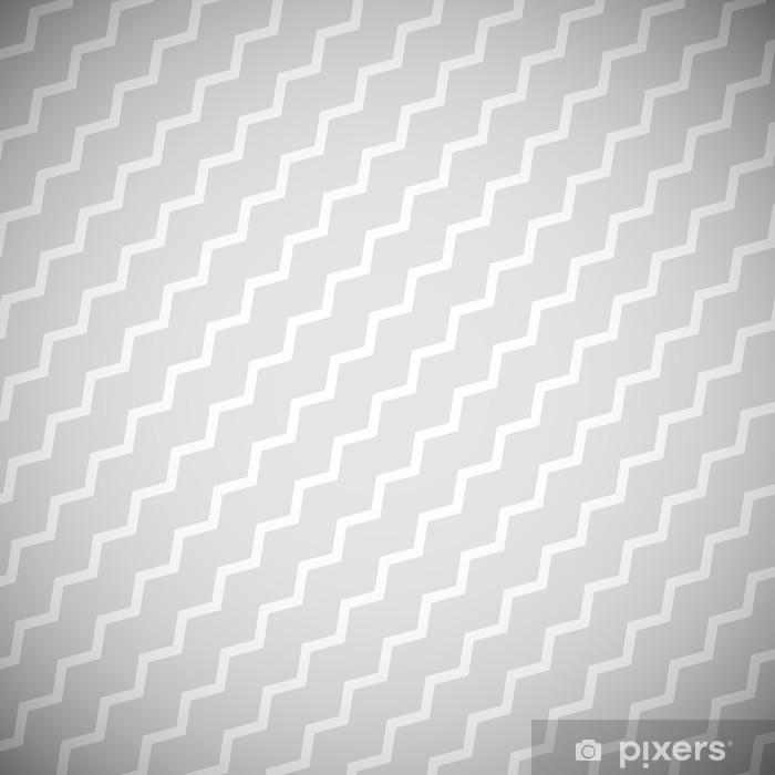 Vinyl Fotobehang Vector achtergrond EPS10 zigzagpatroon - Achtergrond