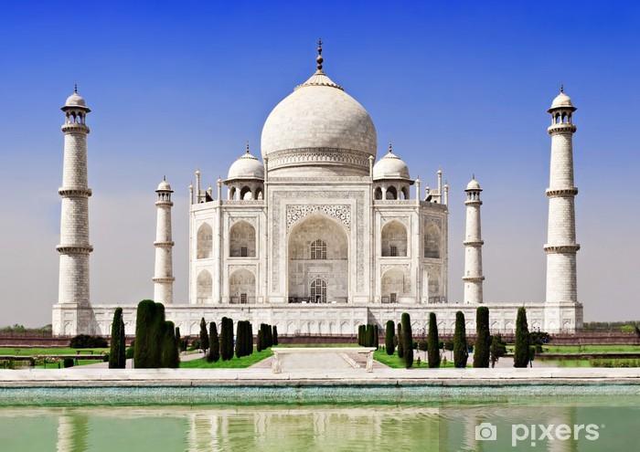 Taj Mahal, Agra Pixerstick Sticker - Asian Cities