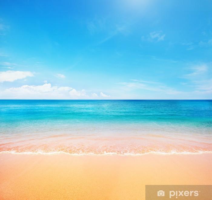 Plakat Plaża i tropikalnych morza - Tematy
