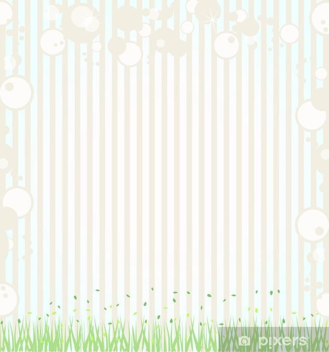 Carta da Parati in Vinile Leaf Background - Stagioni
