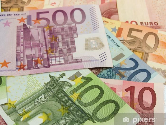 Euro banknotes Washable Wall Mural - Signs and Symbols
