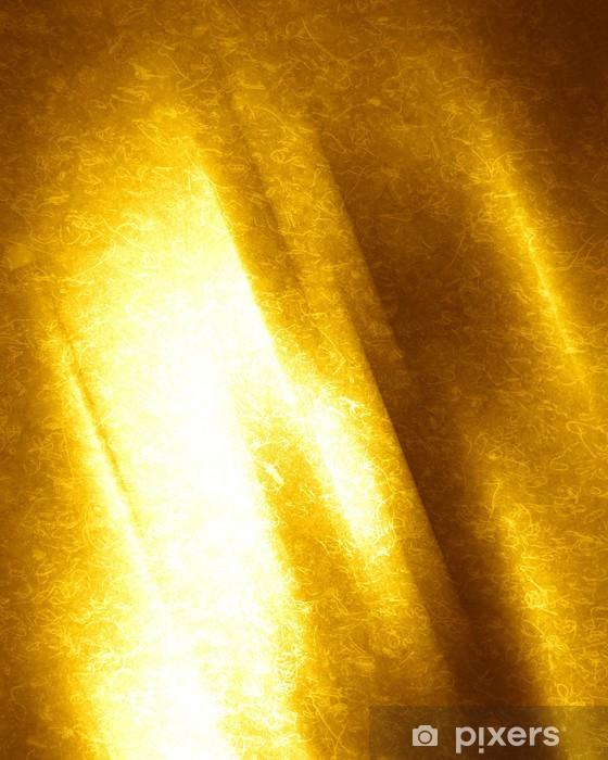 Nálepka Pixerstick Grunge žluté pozadí - Surové materiály