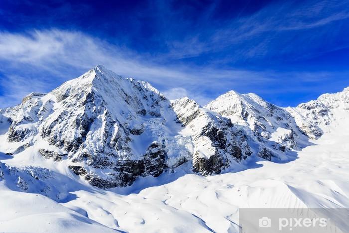 Vinilo Pixerstick Picos nevados de los Alpes italianos - Panorámico