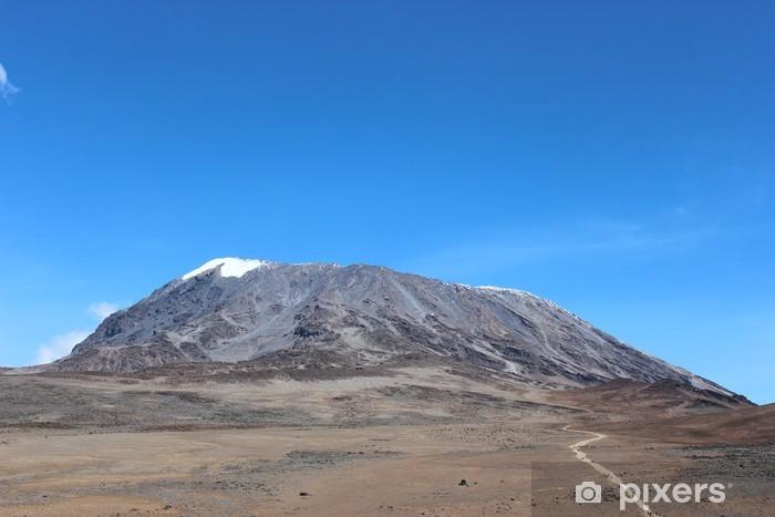 Sticker Pixerstick Kilimandjaro - Montagne