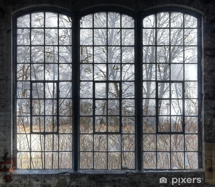 Fototapeta winylowa Stare okno - Zabytki