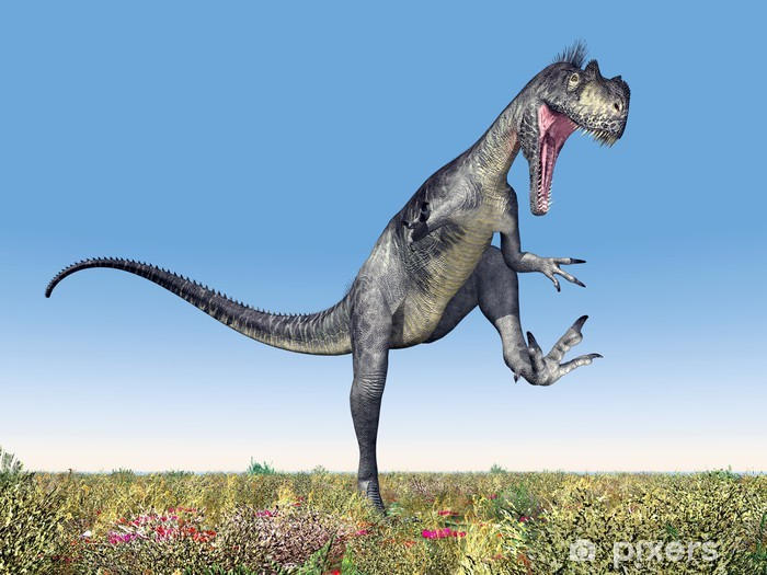 Dinosaur Megalosaurus Vinyl Wall Mural - Themes