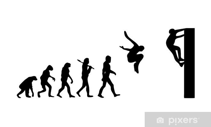 Fototapeta winylowa Ewolucja Parkour - Sporty indywidualne