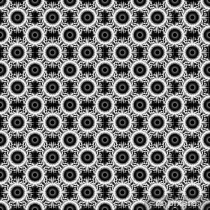 Vinylová fototapeta Návrh bezešvé černobílý diagonální vzor - Vinylová fototapeta