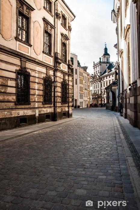 Papier peint vinyle Wroclaw le lieu de rencontre - Thèmes