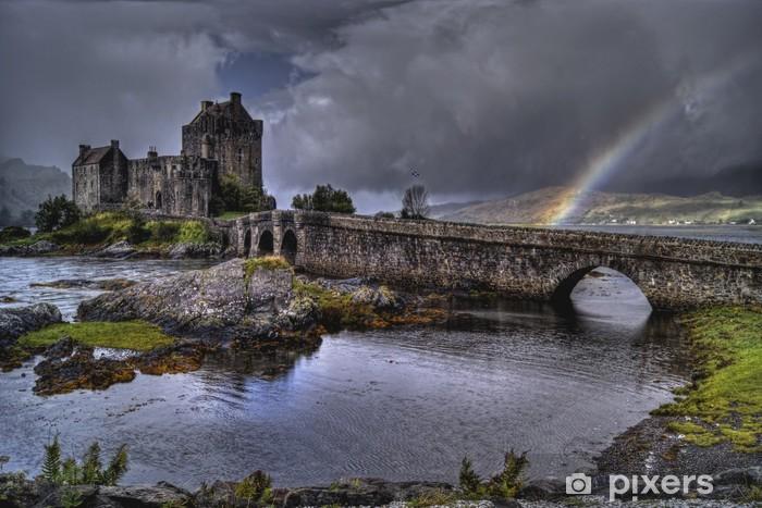 Papier peint vinyle Eilean donan castle - iStaging