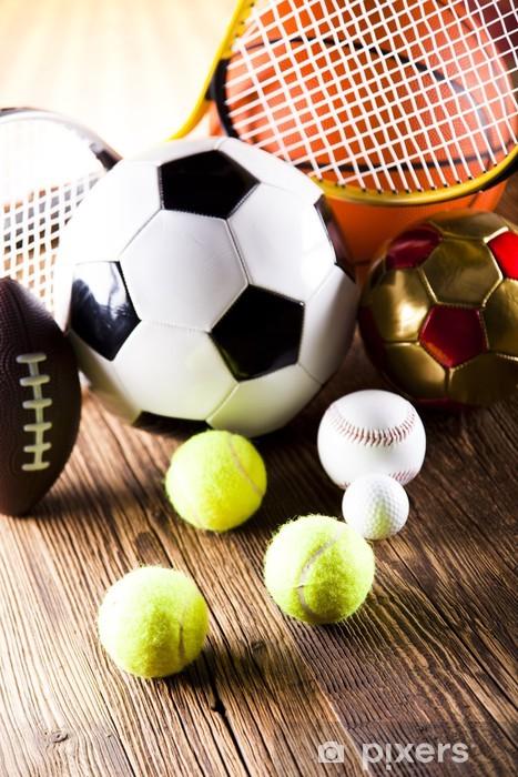 Bord- og skrivebordsklistremerke Sportsutstyr -