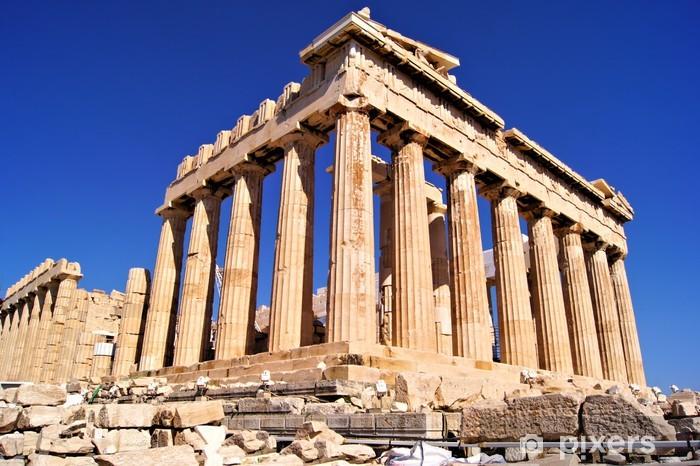 Fototapet av Vinyl Den antika Parthenon, Akropolis, Aten, Grekland - Teman