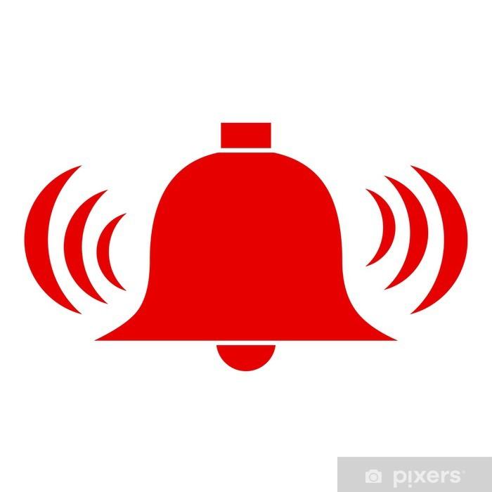 Vektör alarm zili Çıkartması Pixerstick • Pixers® - Haydi dünyanızı  değiştirelim