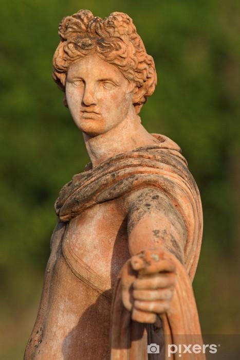 Sticker Pixerstick Sculpture d 'hommes classique en terre cuite de Toscane - Monuments