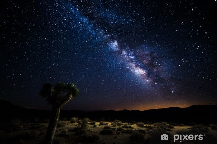 Zelfklevend Fotobehang Voie lactee, Death Valley - Amerika