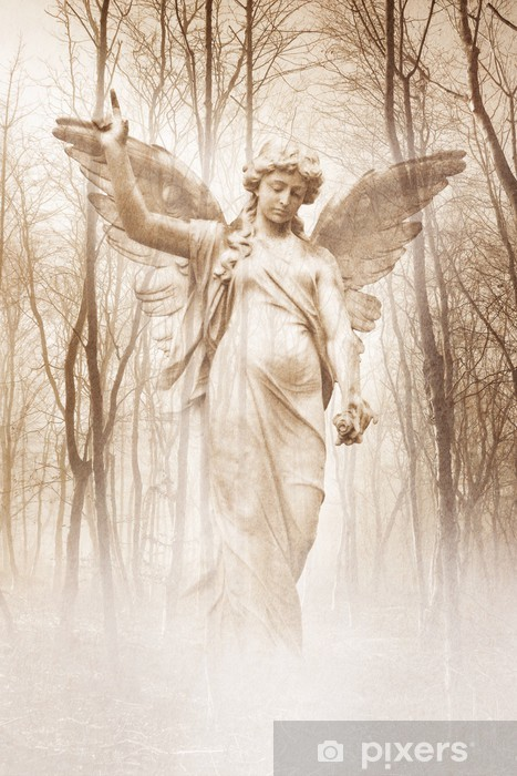 Pixerstick-klistremerke Forest Angel - Themes
